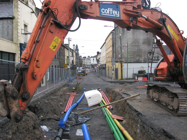 Roadworks, Tuam Co.Galway