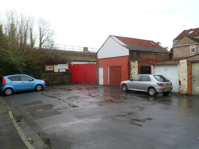 Mike Nutt garage, Whitby Place, Newport