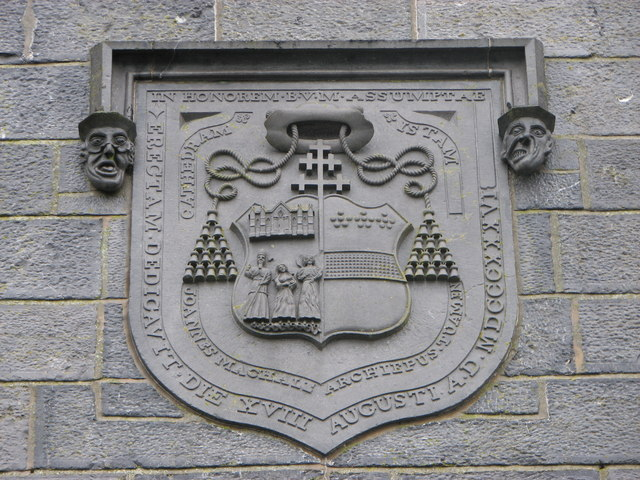 Plaque on Tuam Cathedral
