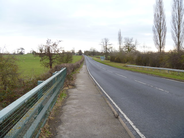 The road to Newbold