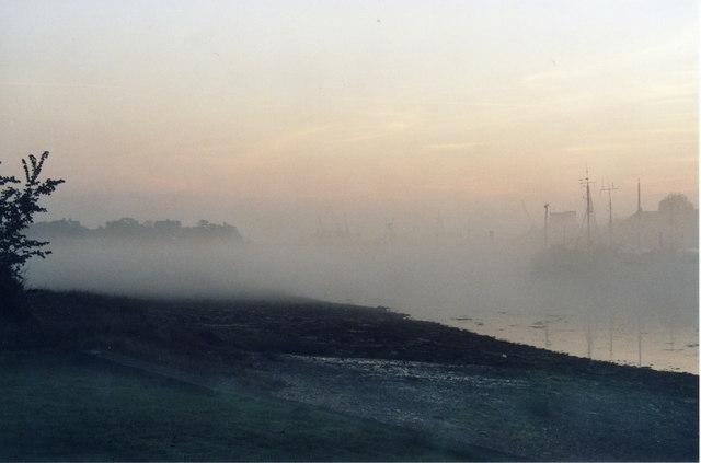 Morning Mist on the Lake 14