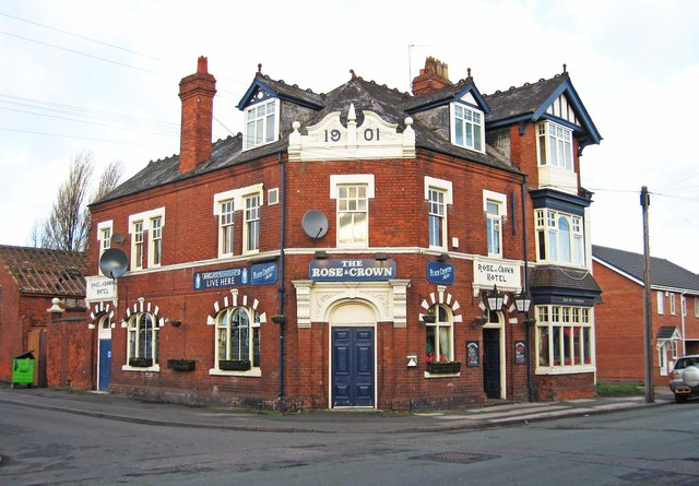 The Rose & Crown (1), 55 Old Birchills, Walsall
