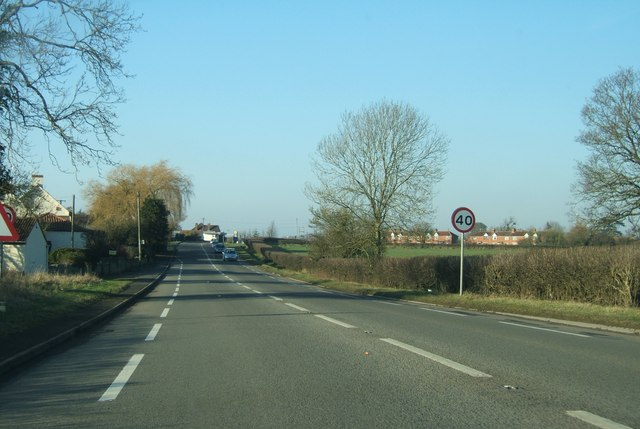 A38 south of Stone