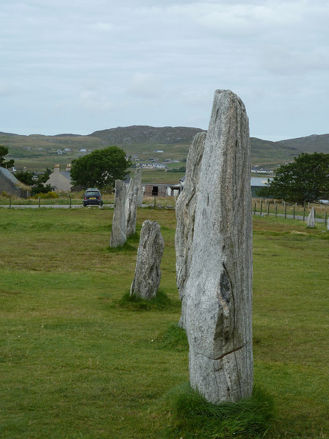 Calanais / Callanish I - Western side of Northern Avenue