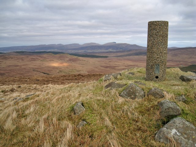 Ben Duagrich trig point