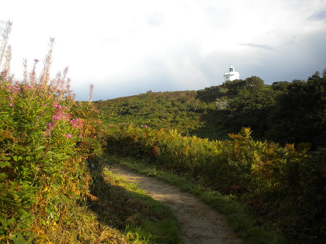 Cromer Lighthouse and Path leading to it