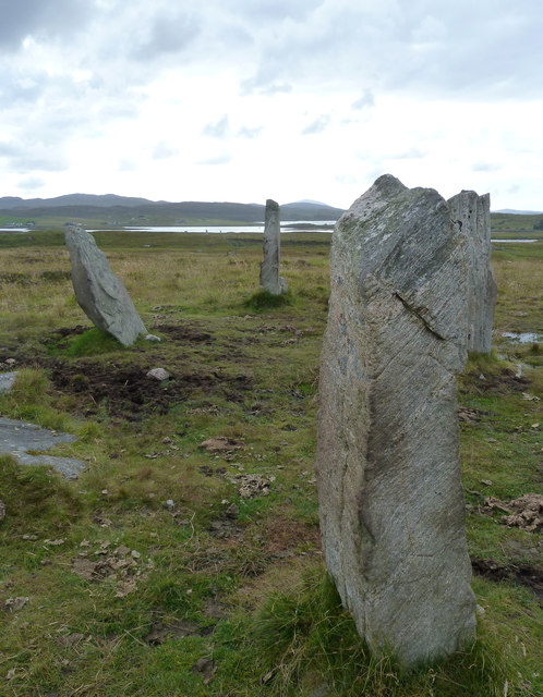 Calanais / Callanish III - view westwards