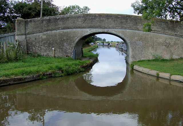 Bullock's Bridge near High Offley, Shropshire