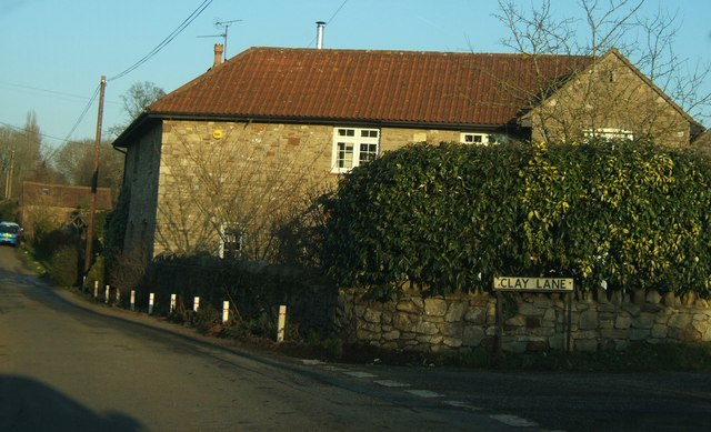 House at the junction of Crossways Lane and Clay Lane