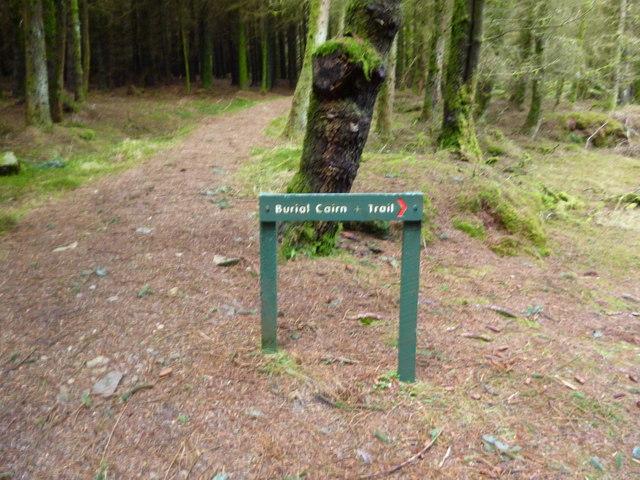 Burial Cairn trail