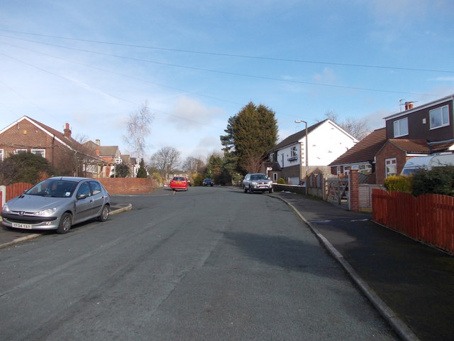 Mazebrook Avenue - looking towards Drub Lane