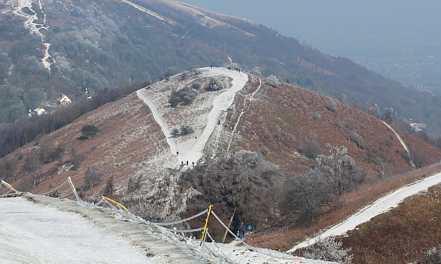 Perseverance Hill with a dusting of snow