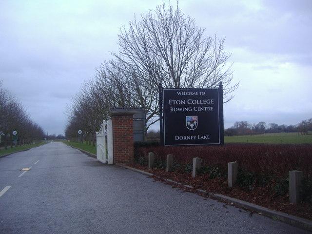 The entrance to Eton Rowing Centre, Dorney