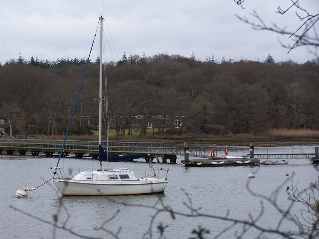 View across the Beaulieu River