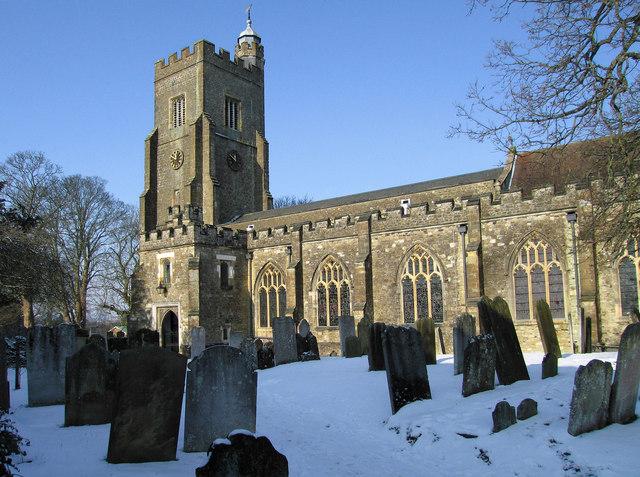 St Nicholas, Sevenoaks