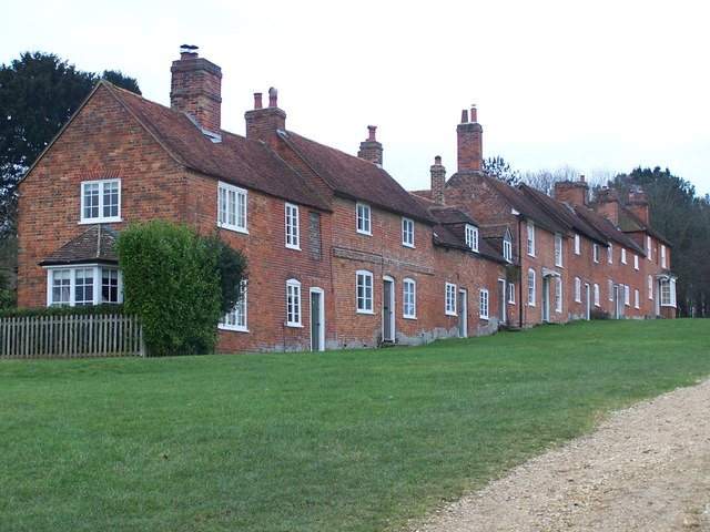 Terrace of cottages at Bucklers Hard