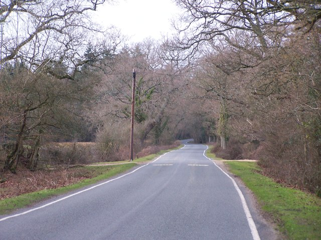 Lane from Bucklers Hard