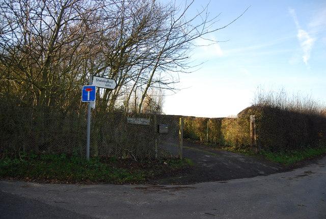 Entrance to Sandy Meadow Farm