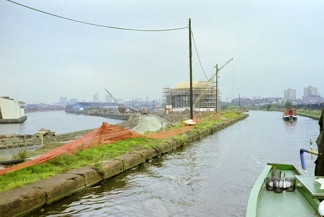 Bridgewater Canal and Manchester Ship Canal, 1990