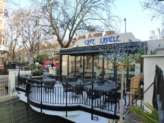 Cafe Laville, Regent's Canal