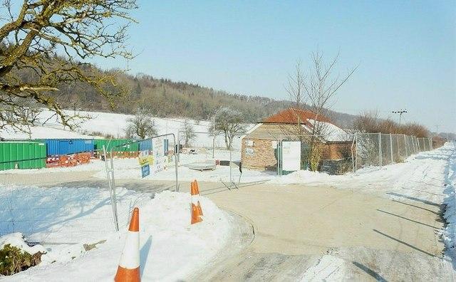 Construction site, Rakesole Farm, Acrise