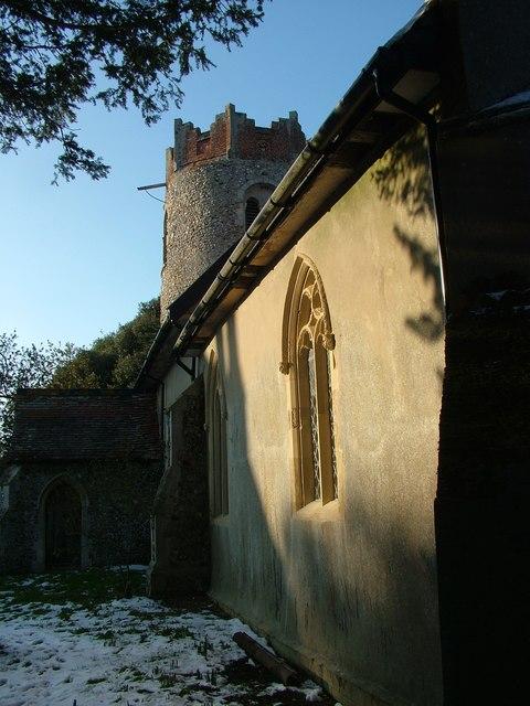 St. Peter's church, Thorington