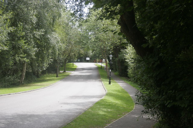Pathway, Shorefield Holiday park