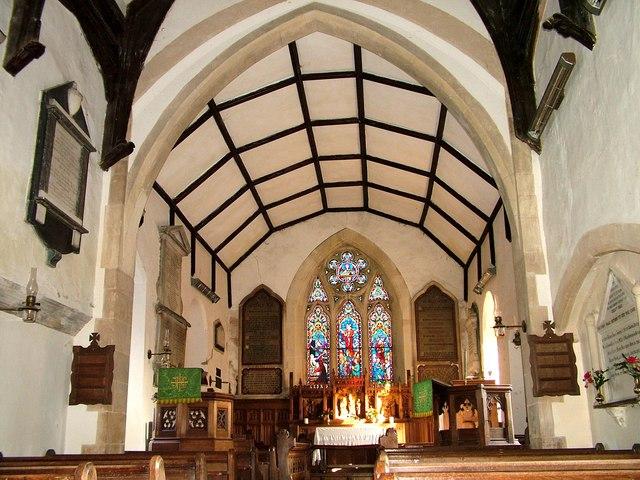 Interior of St. Peter's, Thorington