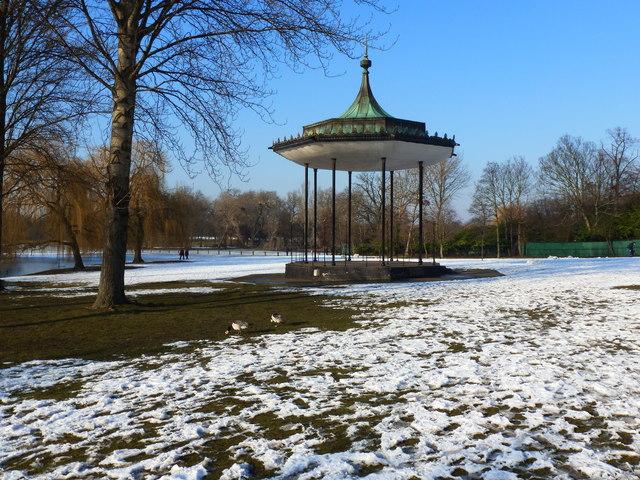 Bandstand, Regent's Park, London
