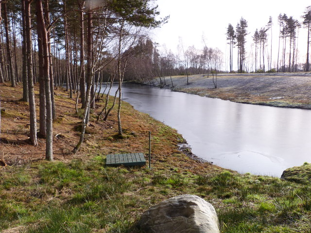Reservoir in Clashmore Woods
