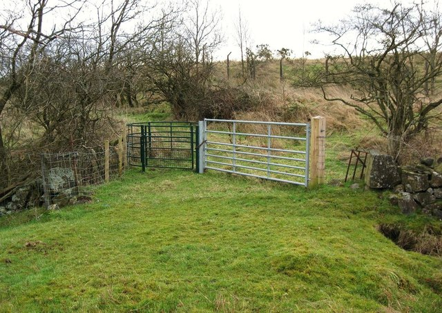 Gate on the Antonine Way