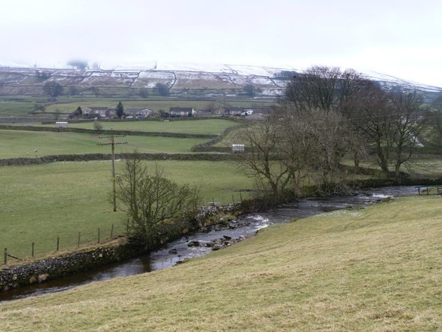 Gayle Beck, below the Pennine Way