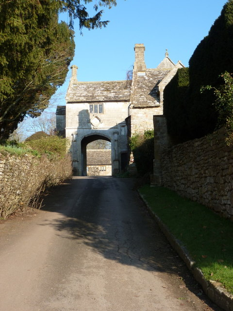 Sandford Orcas: manor gatehouse