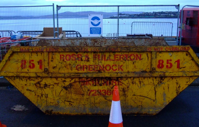 Skip at Gourock Pier