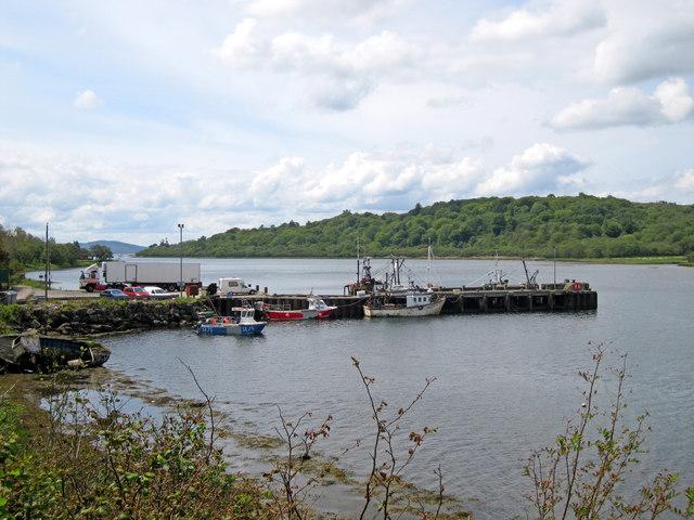 Jetty in West Loch Tarbert