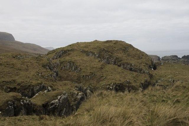 Dun south of Machir Bay, Islay