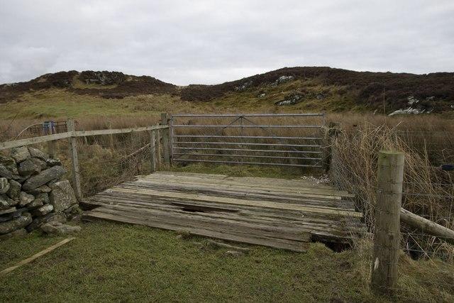 Footbridge across the Abhainn na Braid, Islay