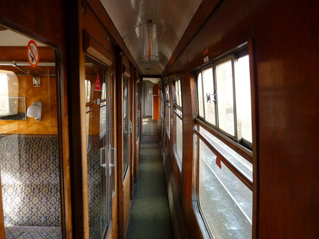 Minehead - Carriage Interior