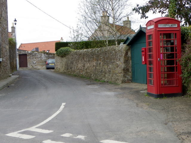Telephone box, Kilrenny