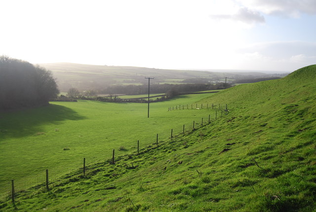 Looking into The Bride Valley