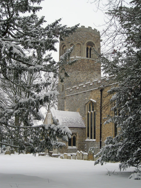 St Nicholas' Church, Little Saxham