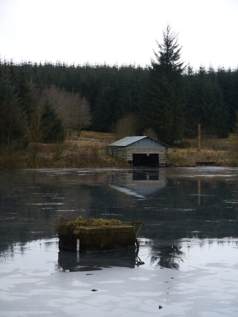 Boathouse At Loch Ettrick