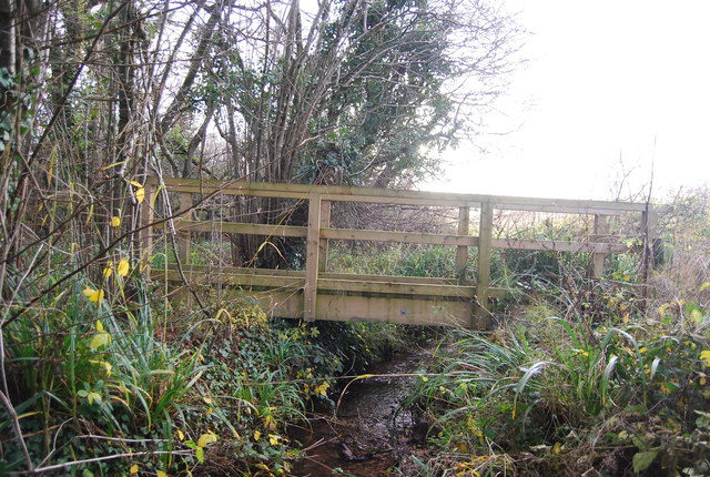 Footbridge near Chilcombe
