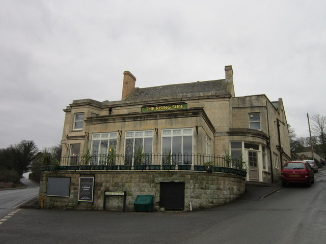The Rising Sun public house, Cleeve Hill