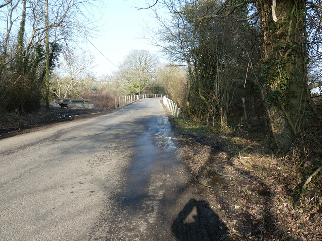 Concrete barrier on bridleway off Wineham Lane