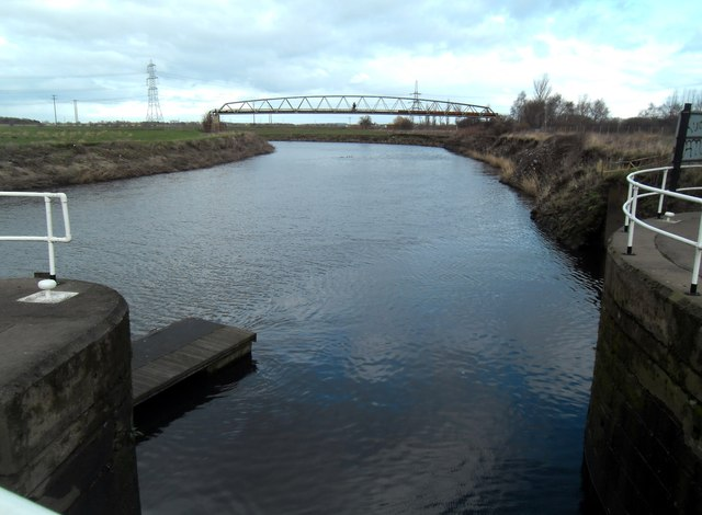Rejoining the river Aire