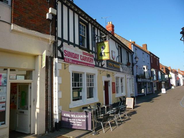 Glastonbury - The King William Inn