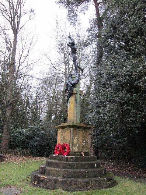 The War Memorial at Stanway