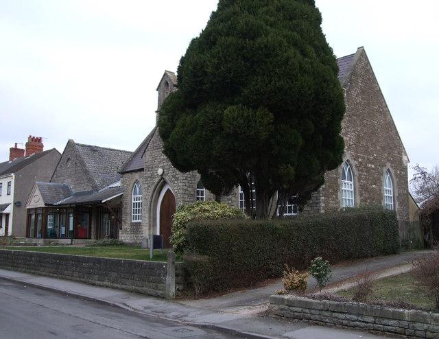 Upper Stratton Baptist Church, Green Road