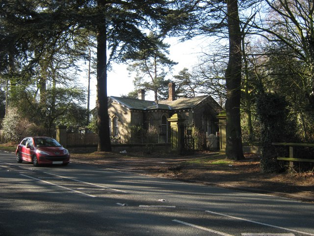 Gatehouse to Canwell Hall